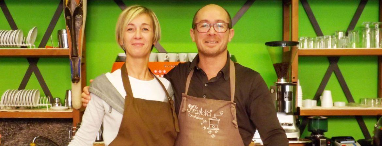 Luca e Paola di Caffè Stramoka a Treviglio (BG)